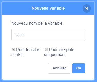 Variable score